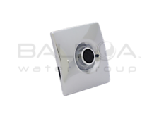 Square Micro Eyeball Escutcheon