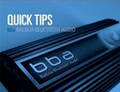bba™ Quick Tips