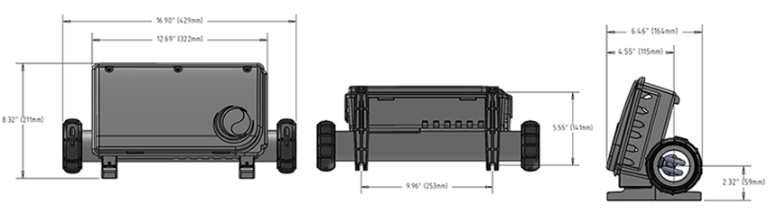BP200 Dimensions