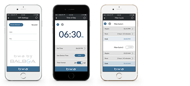 Balboa Water Group - New! bwa™ for the ios device (balboa worldwide app)